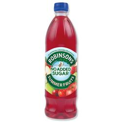 Robinsons Special R Squash No Added Sugar 1 Litre Summer Fruits Ref 0402017 [Pack 12]