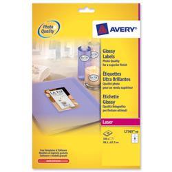 Avery L7765 Colour Laser Labels 99.1x67.7mm 8 per page Ref L7765-40 - 40 sheets