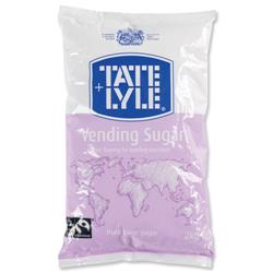 Tate and Lyle Vending Sugar Bulk Vending Bag for Dispensing Machine 2kg Ref A00696