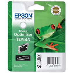 Epson T0540 Inkjet Cartridge Frog Page Life 400pp Gloss Optimiser Ref C13T05404010