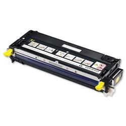 Dell No. NF556 Laser Toner Cartridge High Capacity Page Life 8000pp Yellow Ref 593-10173