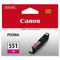 Canon CLI-551M Inkjet Cartridge Page Life 298pp Magenta Ref 6510B001