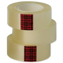 Scotch Easy Tear Transparent Tape 24mmx33m Ref ET2533T6 - Pack 6