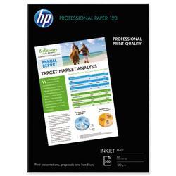 Hewlett Packard HP Professional Inkjet Paper Matt 120gsm A4 Ref Q6593A - 200 Sheets