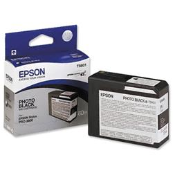 Epson T5801 Inkjet Cartridge Capacity 80ml Photo Black Ref C13T580100