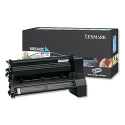 Lexmark High Yield Return Program Cyan Toner Cartridge for C750 Series Ref 0010B042C