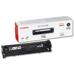 Canon 716BK Black Laser Toner Cartridge for LBP5050/LBP5050n Ref 1980B002AA