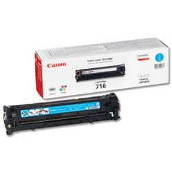 Canon 716C Cyan Laser Toner Cartridge for LBP5050/LBP5050n Ref 1979B002AA