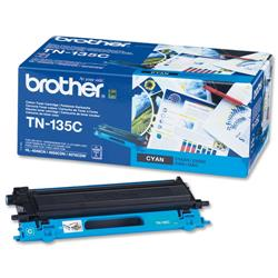 Brother TN135C Cyan Laser Toner Cartridge Ref TN-135C