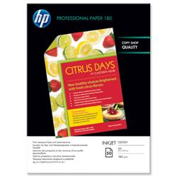 Hewlett Packard HP A4 180gm Glossy Superior Professional Brochure / Flyer Paper Ref C6818A - 50 Sheets