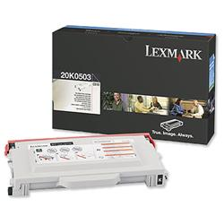 Lexmark C510 5k Black Laser Toner Cartridge Ref 20K0503