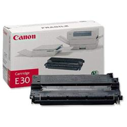 Canon E30 Copier Toner Cartridge Page Life 4000pp Black Ref 1491A003