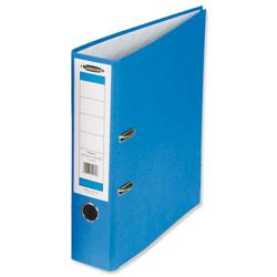 Concord Classic Lever Arch File Printed Lining Capacity 70mm A4 Blue Ref C214040 - Pack 10