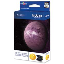 Brother LC-1220Y Yellow Inkjet Cartridge Ref LC1220Y