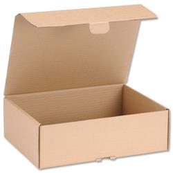 Mailing Carton Easy Assemble M 325x240x105mm Brown Ref 43383251 [Pack 20]