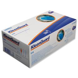 KleenGuard G10 Arctic Blue Nitrile Gloves Large Ref 90098 - 100 Pairs