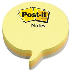 3M Post-It Notes Speech Bubble Block Ref 2007SP