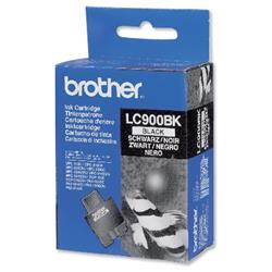 Brother Inkjet Cartridge Page Life 500pp Black Ref LC900BK