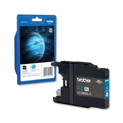 Brother LC1280XLC High Yield Cyan Inkjet cartridge Ref LC-1280XLC