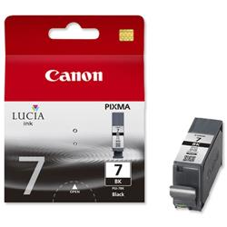 Canon PGI-7 Black Inkjet Cartridge for Pixma MX7600 Ref 2444B001