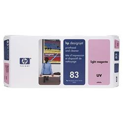 HP Inkjet Printhead & Cleaner No. 83 UV Light Magenta 13 ml Ref C4965A