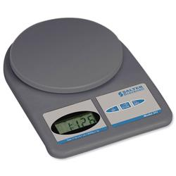 Salter Letter and Parcel Scale Electronic 1g Increments Capacity 5kg Grey Ref 311