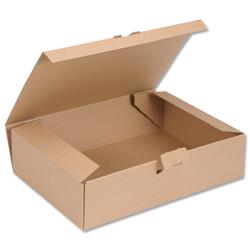Easi Mailer Kraft Mailing Box W305xD215xH80mm Brown Ref 97381008 [Pack 20]