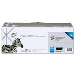 5 Star Office Remanufactured Laser Toner Cartridge 2000pp Black [HP No. 36A CB436A Alternative]
