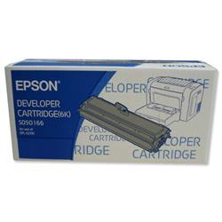 Epson S050166 Laser Toner Cartridge Page Life 6000pp Black Ref C13S050166