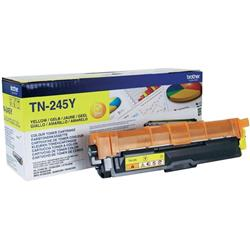 Brother Laser Toner Cartridge Page Life 2200pp Yellow Ref TN245Y