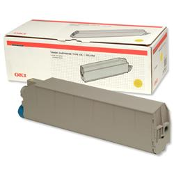 OKI Yellow Toner Cartridge for C9300/C9500 Ref 41963605