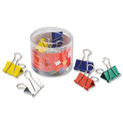 5 Star Office Foldback Clips 32mm Assorted [Pack 12]