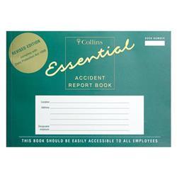 Collins Accident Report Book A5 Landscape 148x210mm Ref ARB2