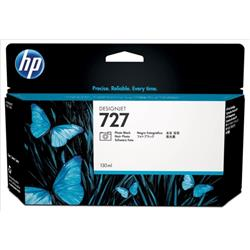 Hewlett Packard (HP) No. 727 Designjet Inkjet Cartridge 130ml Photo Black Ref B3P23A