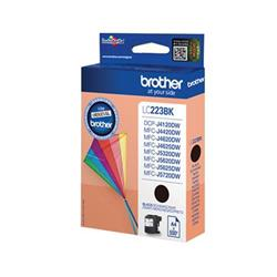 Brother Inkjet Cartridge 11.8ml Page Life 550pp Black Ref LC223BK