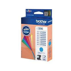 Brother Inkjet Cartridge 5.9ml Page Life 550pp Cyan Ref LC223C