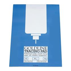 Goldline Professional Tracing Pad 90gsm 50 Sheets A3 Ref GPT1A3Z [Pack 5]
