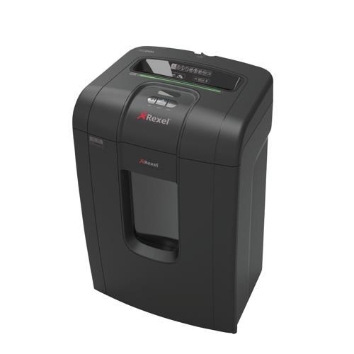 Rexel rss2434 office shredder 6mm ribbon cut 34 litre bin for Best home office shredder uk