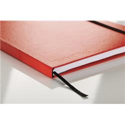 Red By BlackNRed Business Journal Book Soft Cover 90gsm Numbered Pages B5 Ref 400051200