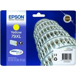 Epson 79XL Inkjet Cartridge Tower of Pisa Capacity 17.1ml Yellow Ref C13T79044010