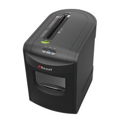 Rexel REX1323 Office Shredder 4.0x40mm Cross Cut 23 Litre Bin 13 Sheet Capacity and P-4 Security Level Ref 2105013 + £20 Cashback