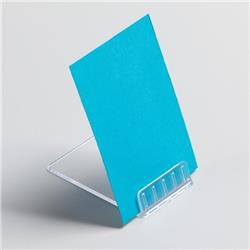 5 Star Office Table Top Card Holder Angled Point Of Sale [Pack 10]