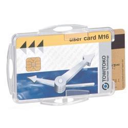 Durable Dual Swipe Card Holder Ref 999108000 (Pack 50)