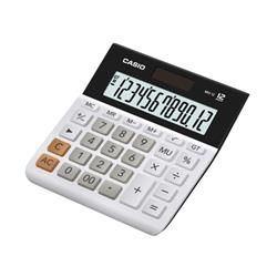Casio Desktop Calculator 12 Digit Battery and Solar Ref MH-12-WE-S-EH