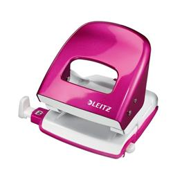 Leitz NeXXt WOW Hole Punch 3mm 30 Sheet Pink Ref 50081023L + Win Ascaso Espresso Machine
