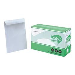 5 Star Eco Envelopes Recycled Pocket Self Seal 90gsm White C4 [Pack 250]