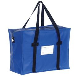 Courier Holdall Blue Ref H2B
