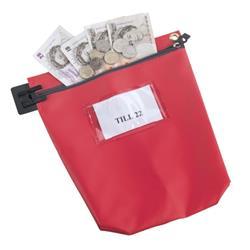 Cash Bag Medium Red Ref CB1R