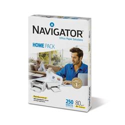 Navigator Homepack A4 Paper 80gsm White Ref 127415 [250 Sheets]