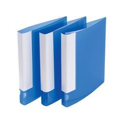 5 Star Office Ring Binder 2 O-Ring Polypropylene A4 Blue [Pack 10]